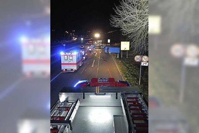 Straßeneinsätze für Feuerwehr