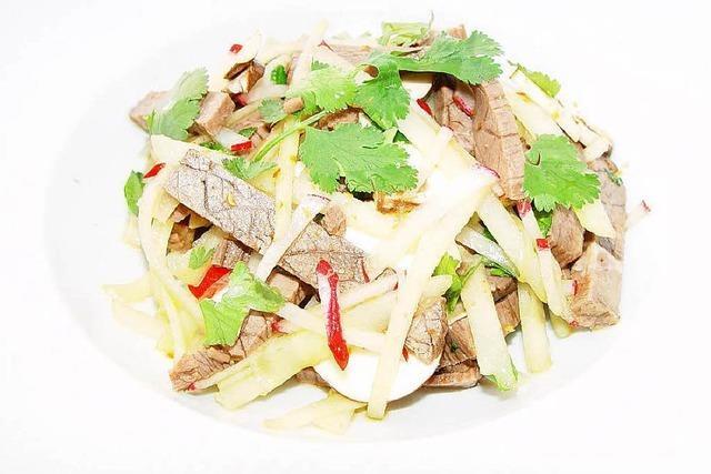 Rindfleischsalat asiatisch: Frisch wie der Frühling