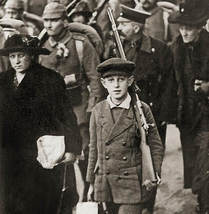 Zum Krieg erzogen:  im August 1914   | Foto: dpa