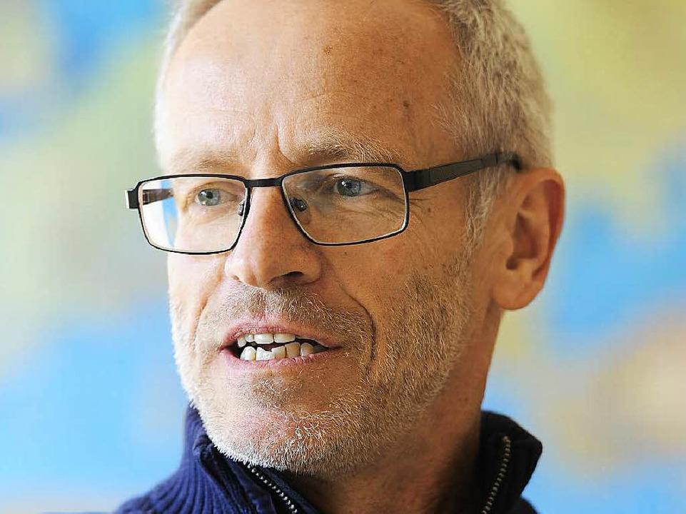 Carl-Anton Weber: Deutschunterricht und Lauftraining  | Foto: Achim Keller