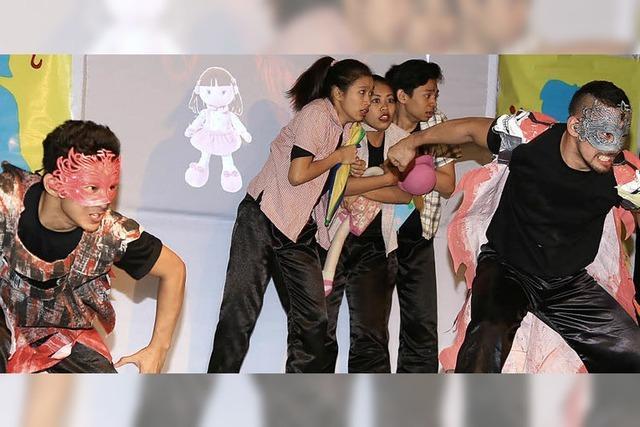 Tanzend gegen Kindesmissbrauch