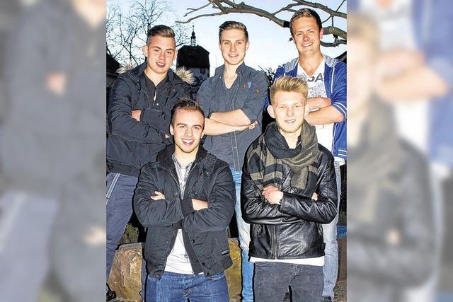 Fünf junge Männer bewerben sich um den Titel Mister Waldshut