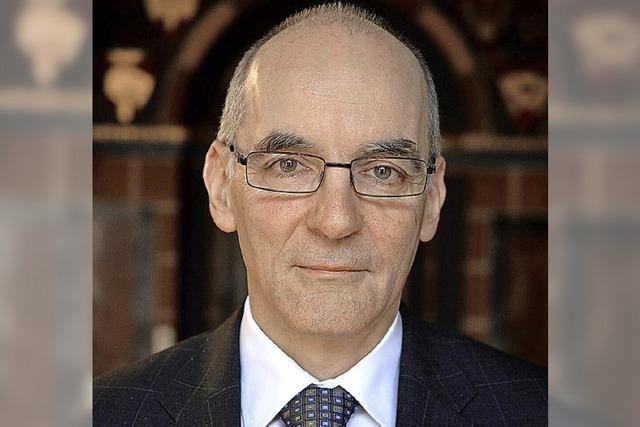 Diözesanokonom Michael Himmelsbach kümmert sich um die Finanzen des Erzbistums
