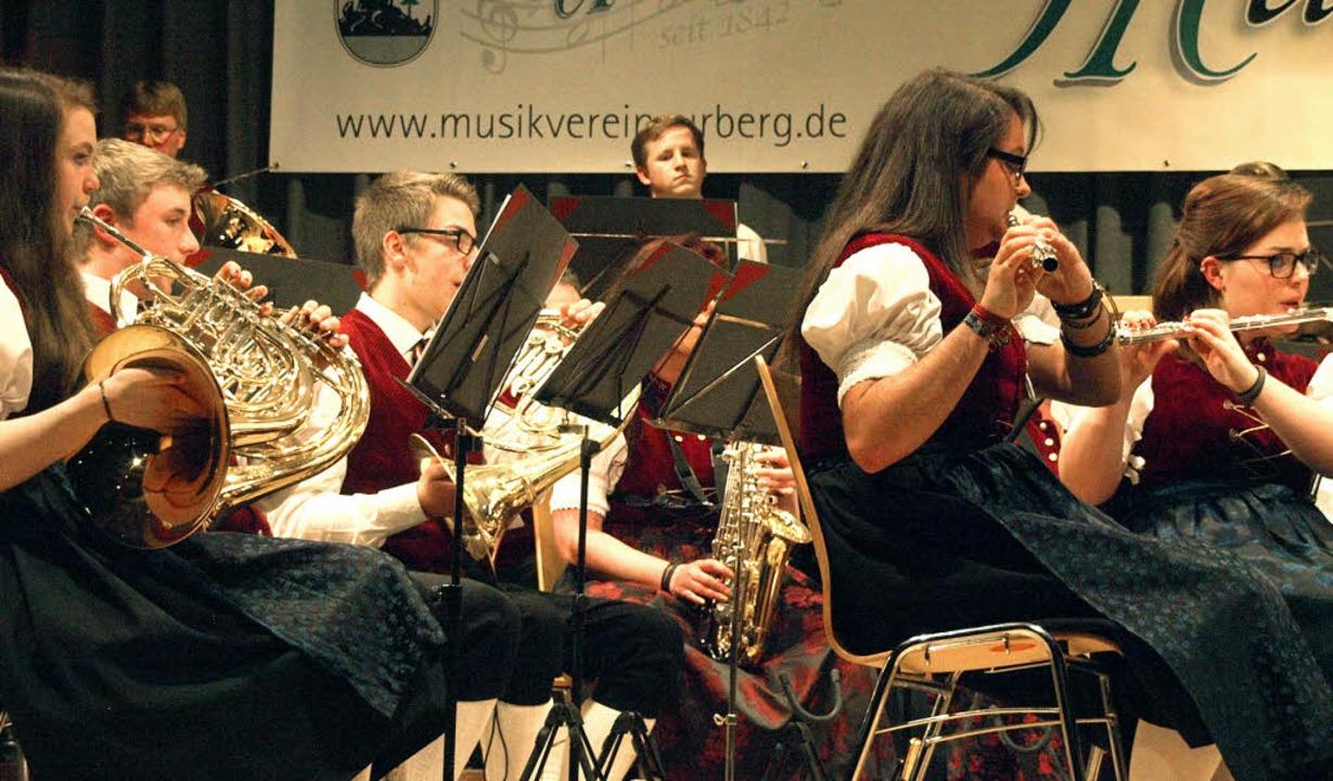 Mit etlichen Highlights konnte der Mus...h das komplett neue Hornregister zählt  | Foto: Karin Stöckl-Steinebrunner