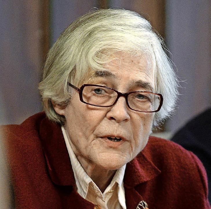 Psychologin Ursula Jaisle   | Foto: Rita Eggstein