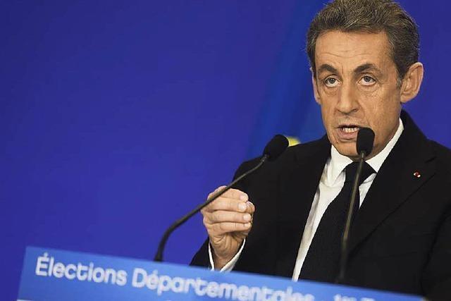 Lager von Sarkozy gewinnt Regionalwahlen in Frankreich