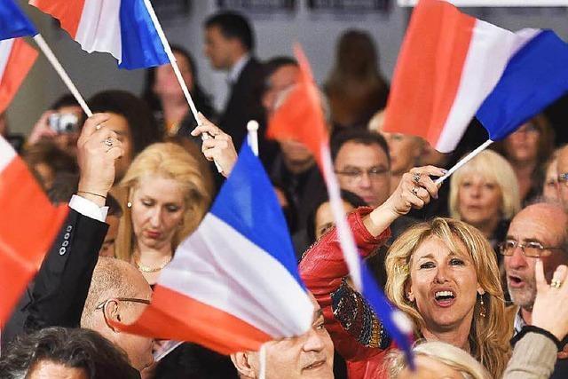 Front National im Elsass fast überall Zweiter