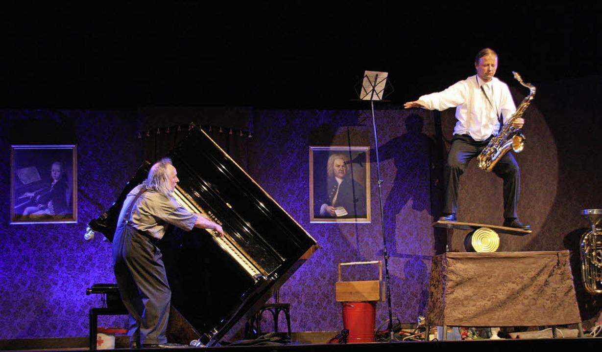 <Text>Schräges Kammerkonzert: Gogol &amp; Mäx in concert</Text>   | Foto: Hans Jürgen Kugler