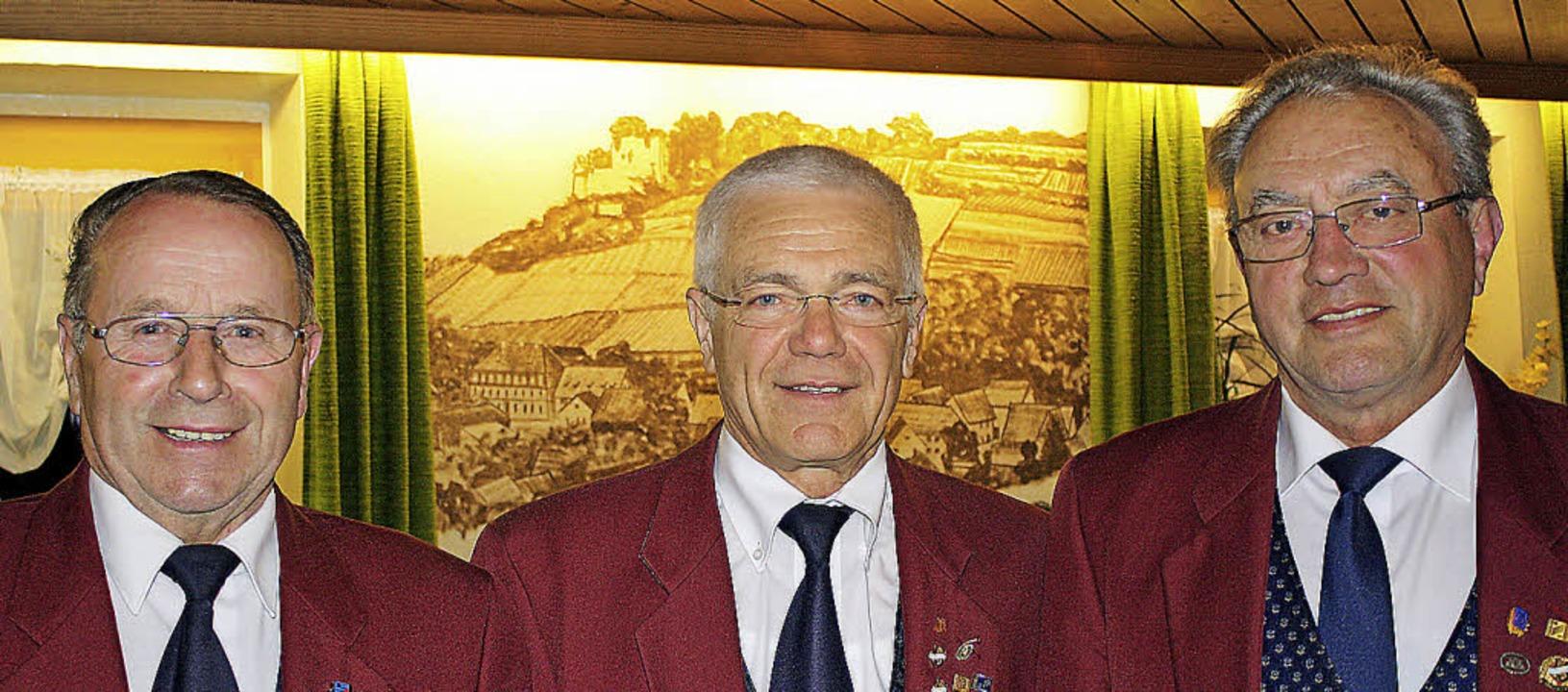 Der  Vorsitzende des Musikvereins Heck...olz 60-jährige Instrumentenerfahrung.   | Foto: Werner Schnabl