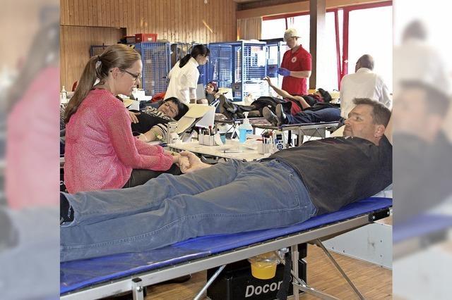 Blutspendeaktion im Paulinerheim