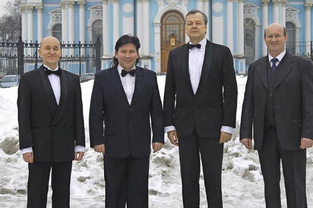 Viva, das Vokalemsemble aus St.Petersburg in Wolfenweiler