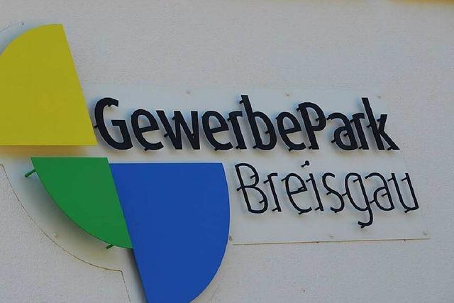 Gewerbepark Breisgau entwickelt sich gut