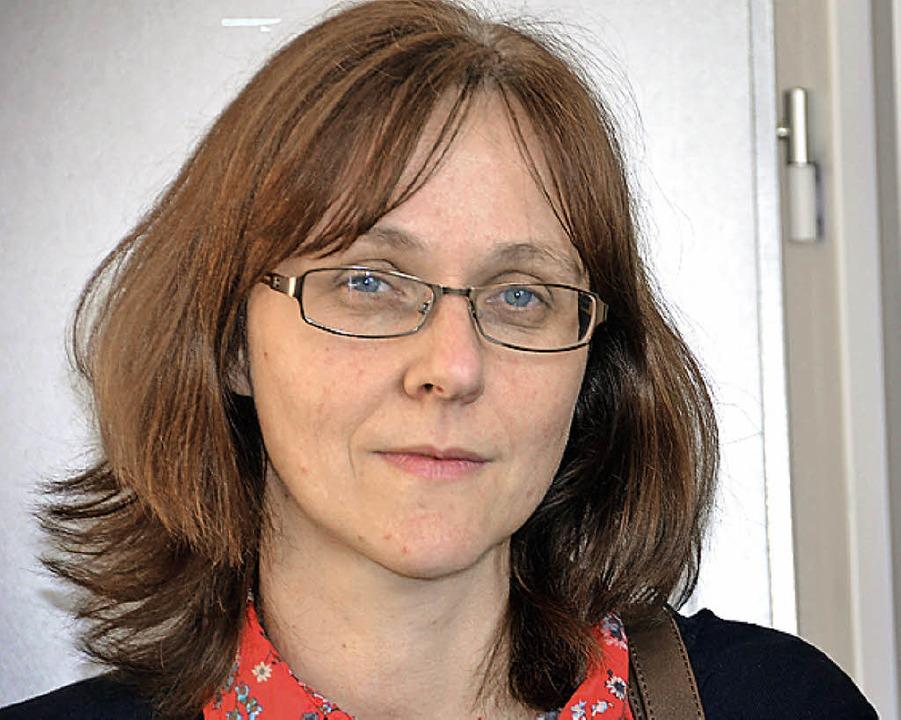 Silvia Maier hat ihre Stelle im Rathau..., was von allen Seiten bedauert wurde.    Foto: Juliane Kühnemund
