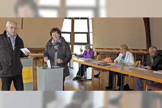Die Oberspitzenbacher und Siegelauer waren die fleißigsten Wähler