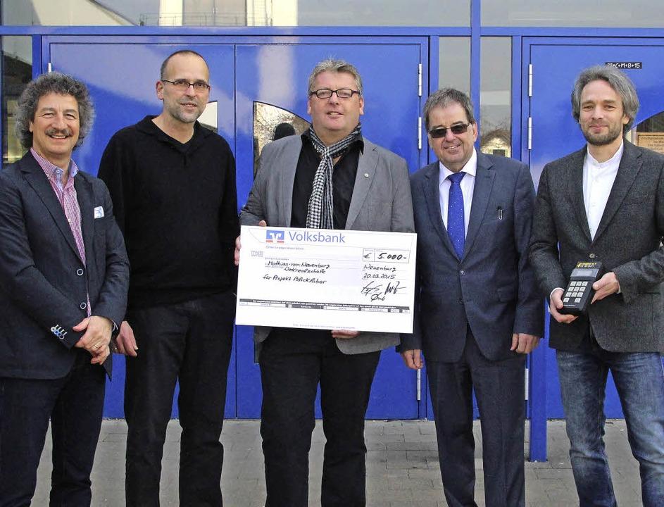 Sponsoren unterstützen ein ungewöhnlic...nburger Werkrealschule mit 5000 Euro.   | Foto: Privat