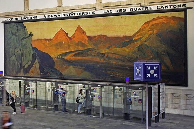 Zeugen der frühen Schweizer Tourismuswerbung