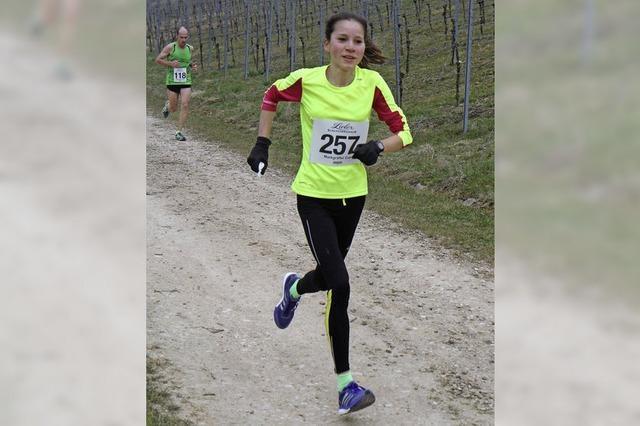 Nadia Dietz entwischt am Berg