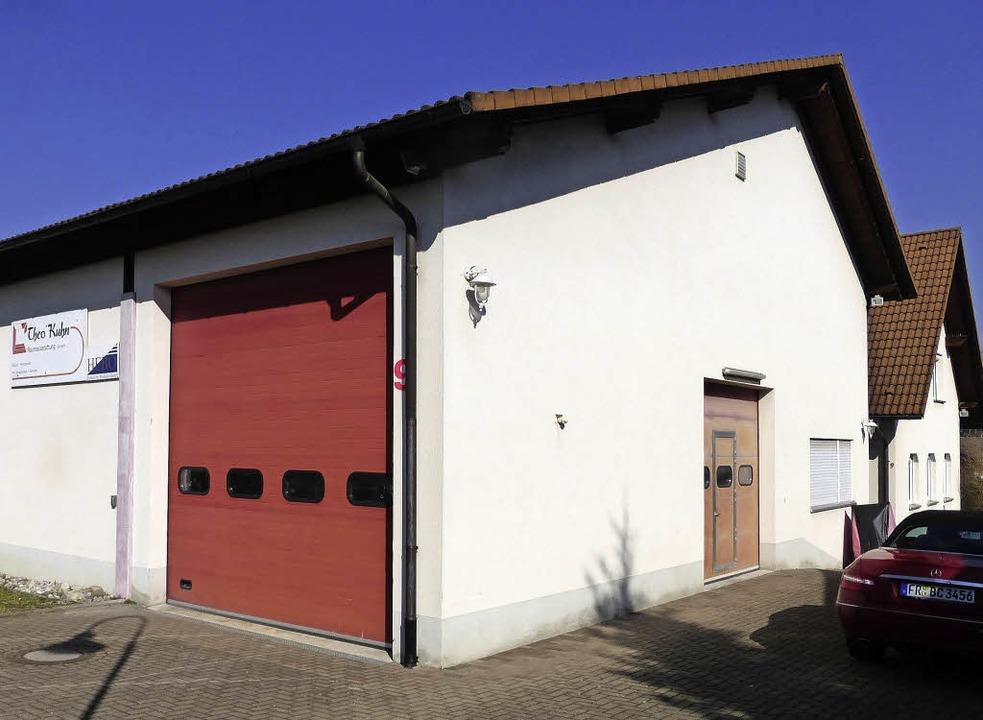 Die Halle in der Gewerbestraße wird ni...nterkunft für die Feuerwehr Ebringen.   | Foto: Gallien