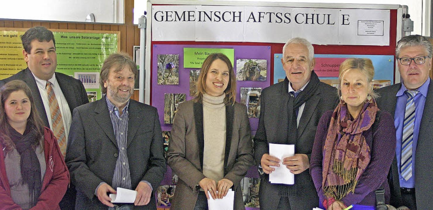 Inklusionslehrerin Tanja Frey,  Bürger...der Bürgermeister Todtnau (v. links).     Foto: ZVG