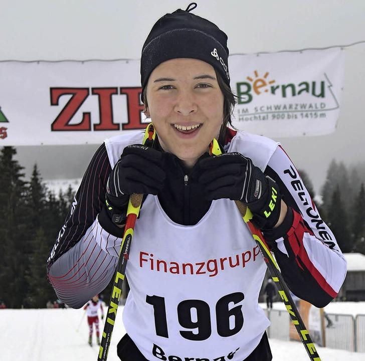Johanna Knöpfle ist Fünfte im Deutschlandpokal.  | Foto: Helmut Junkel