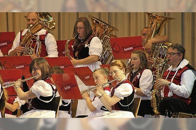 Gelungener Auftritt mit vier Dirigenten