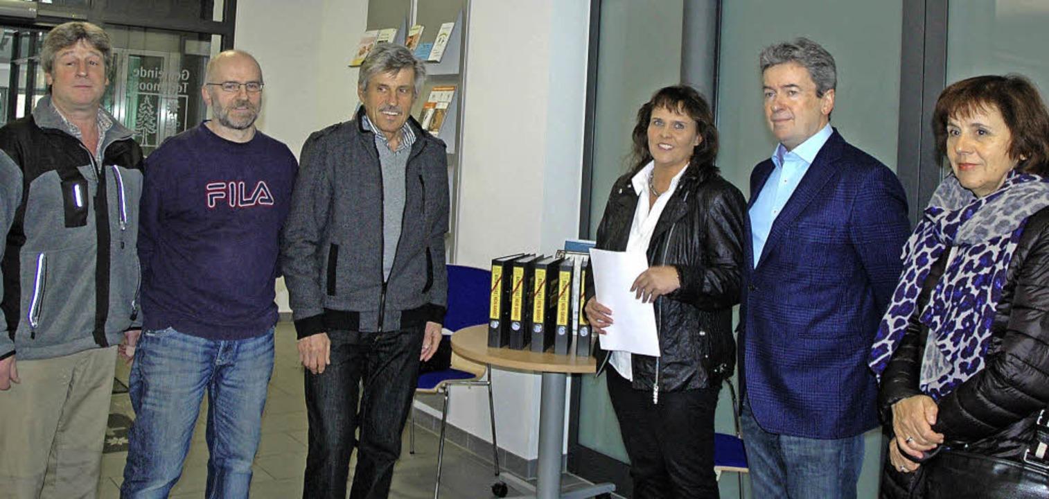 Stefan Schmidt, Johannes Gehri und Kur...er gehören dem Bündnis an (von links).  | Foto: christiane sahli
