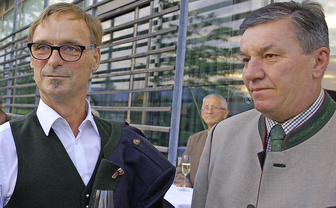 Erwin Eggenreich, der amtierende Bürge...sacht hat, die Komfortzone verlassen.   | Foto: Archivfoto: Ralf Burgmaier