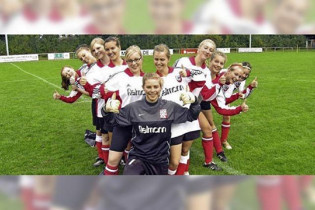 Fußball-Mädchentag in Lörrach