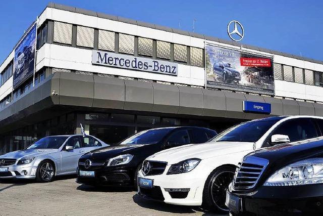 Drei Bewerber für Mercedes-Niederlassungen in Südbaden