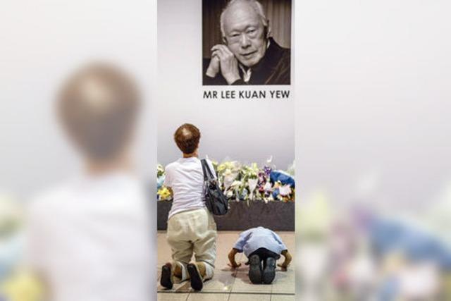 Singapurs Staatsgründer: Disziplin war ihm viel wichtiger als Demokratie
