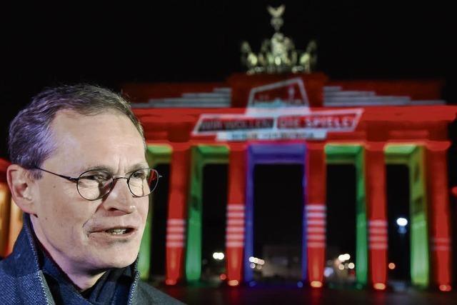 Berlins Regierender Bürgermeister Michael Müller - ein ganz normaler Herr
