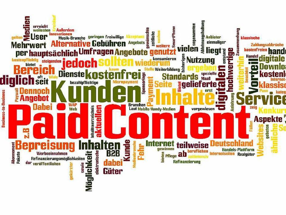 Paid Content – bezahlte Inhalte im Internet   | Foto: Fotodo/Fotolia