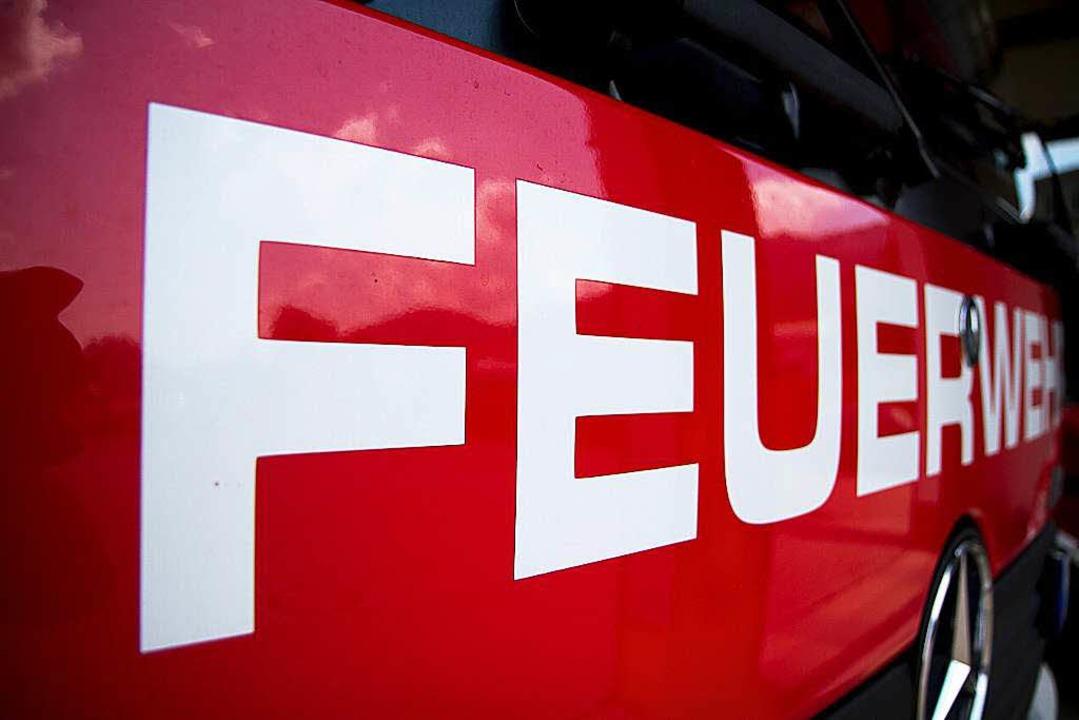 Feuerwehreinsatz in Freiburg-Weingarten (Symbolfoto).  | Foto: Daniel Fleig