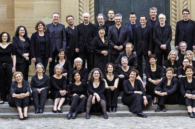 Die Christuskantorei Freiburg singt das Brahms-Requiem