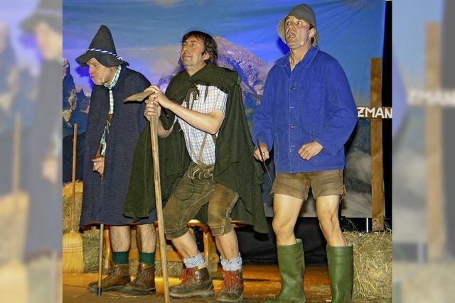 Kultiger Alpenrock vor 400 begeisterten Fans