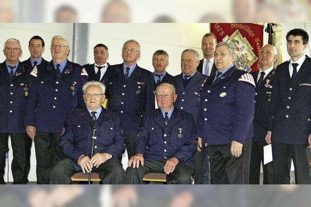 Respekt für Feuerwehrleute