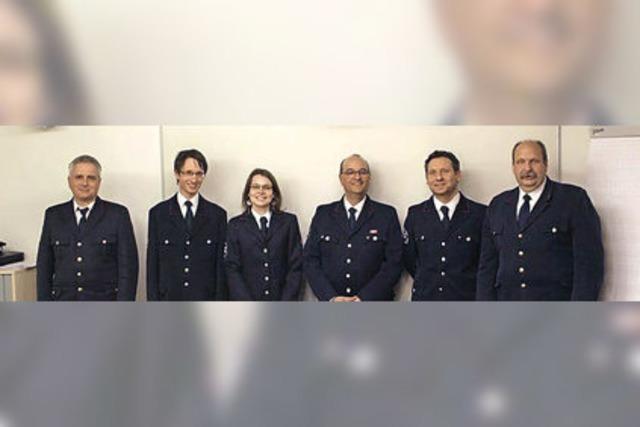 Julia Kollmer ist neue Kommandantin des ABC-Zug der Freiwilligen Feuerwehr Freiburg
