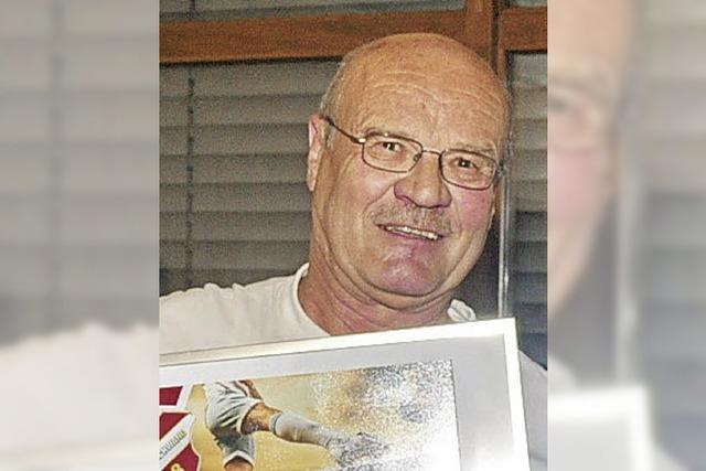 Sportverein ehrt Kurt Kürner