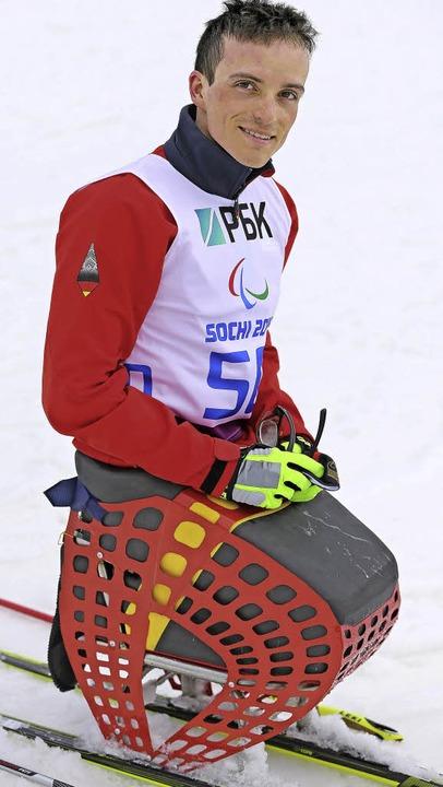 Beim Weltcup-Finale ganz oben: Martin Fleig     Foto: DPA