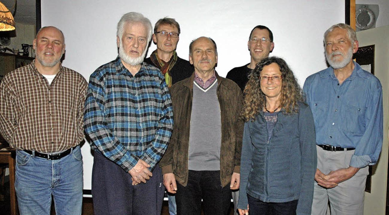 Der Nabu-Vorstand: Armin Kreutner, Die...iser, Barbara Stecher, Rolf Dietrich.     Foto: ZVG