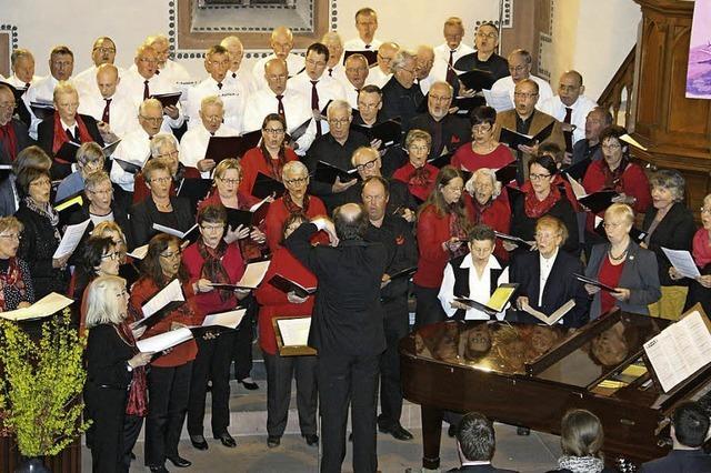 Gediegener Hörgenuss vom Männerchor
