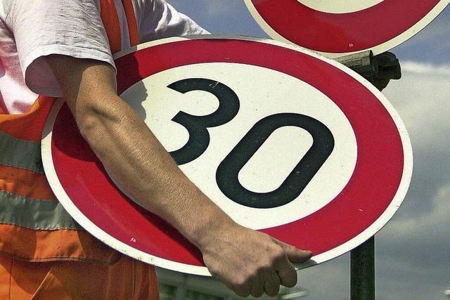 Kein Tempo 30 für Ortsdurchfahrten