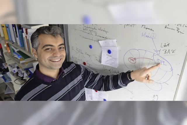 Der Mathematiker und Informatiker Marco Ragni untersucht die Funktionsweisen des menschlichen Gehirns