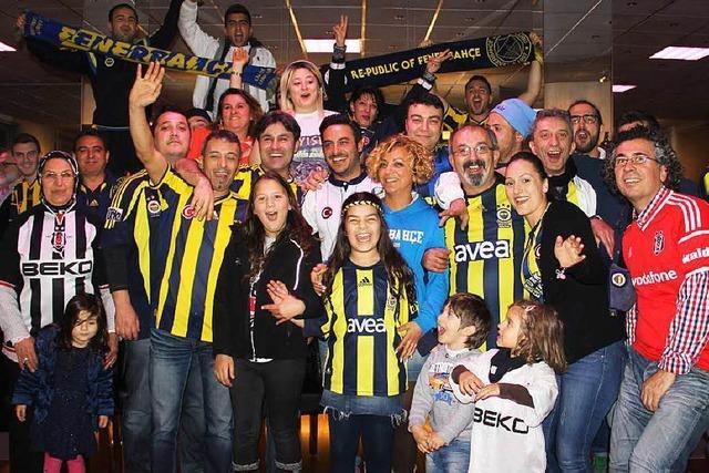 Fanclub in Freiburg vom Istanbuler Fußballverein Fenerbahce