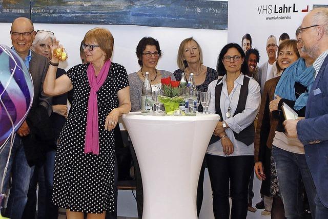 Die Lahrer VHS-Leiterin Gabriele Melcher geht in den Ruhestand