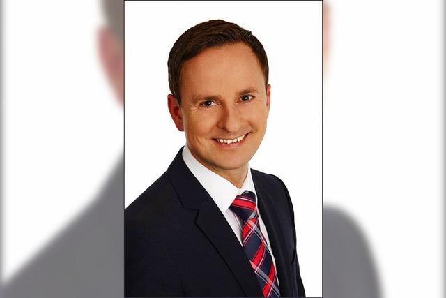 Mario Schlafke will Eschbacher Bürgermeister werden