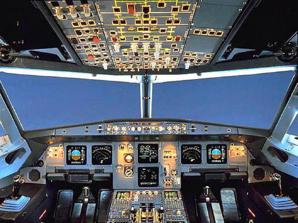 So funktioniert die Verriegelung der Cockpit-Tür ...