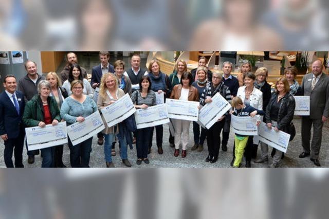 31 Schulen bekommen je 750 Euro
