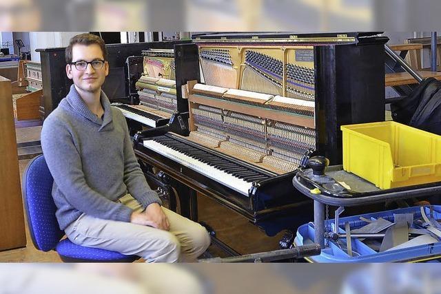 Klavierbauer Valentin Dorwarth: Instrumente zum Singen bringen