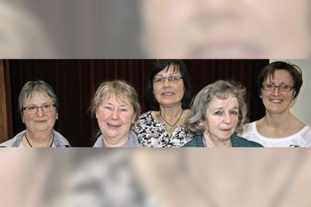 Sogar neun Männer gibt's im Landfrauenverein